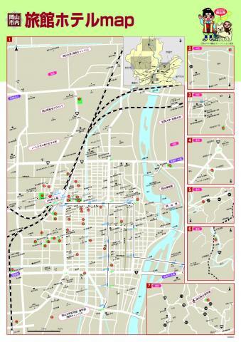 岡山 観光 地図